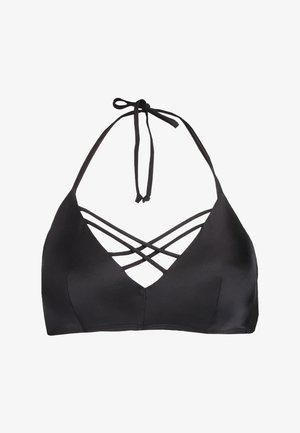 BORABORA SHINY - Bikinitopp - black