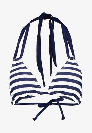 AMBROSIA TRIANGLE TOP - Top de bikini - navy