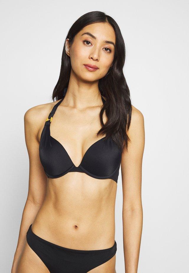 JAMAICA SUPER PUSH UP - Bikinitop - black