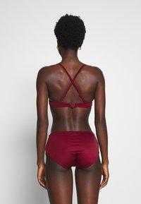 DORINA - FILAOPADDED - Bikinitoppe - red - 2