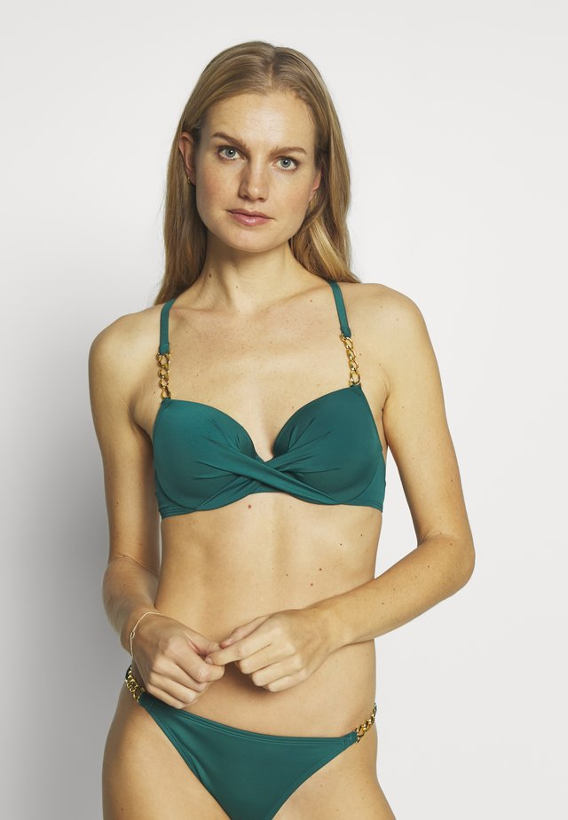 FILAOPADDED - Bikinitoppe - green