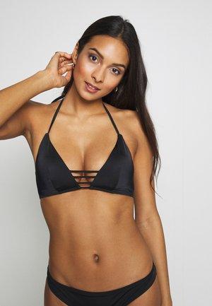 KENYA TRIANGLE - Bikini-Top - black