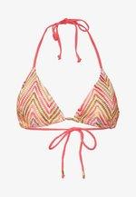ZANZI TRIANGLE - Bikini top - orange