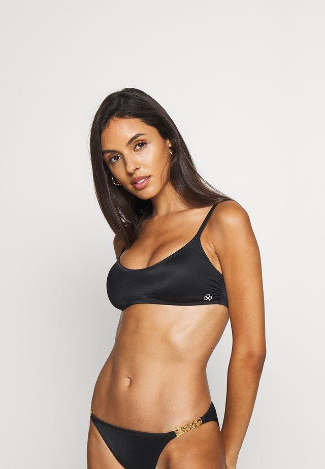 RHODES - Bikini pezzo sopra - black
