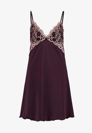 LIANNE TONE DRESS - Nattlinne - dark red