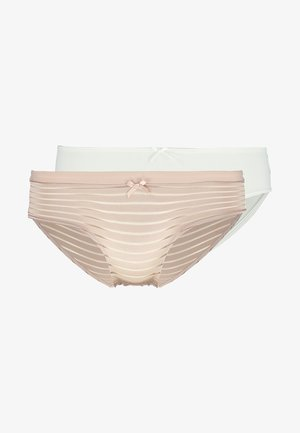 LOUISE HIPSTER 2 PACK - Panties - blush/ivory