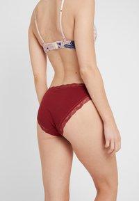 DORINA - GINA BRIEF 3 PACK - Kalhotky/slipy - pink/floral/red - 2