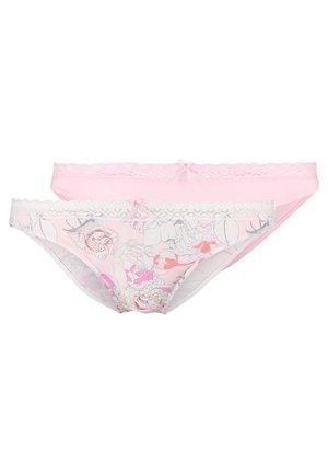 KENDRA PRINT 2 PACK - Tanga - pink