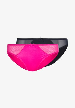 ALISSA BRIEF 2 PACK - Braguitas - pink/ink
