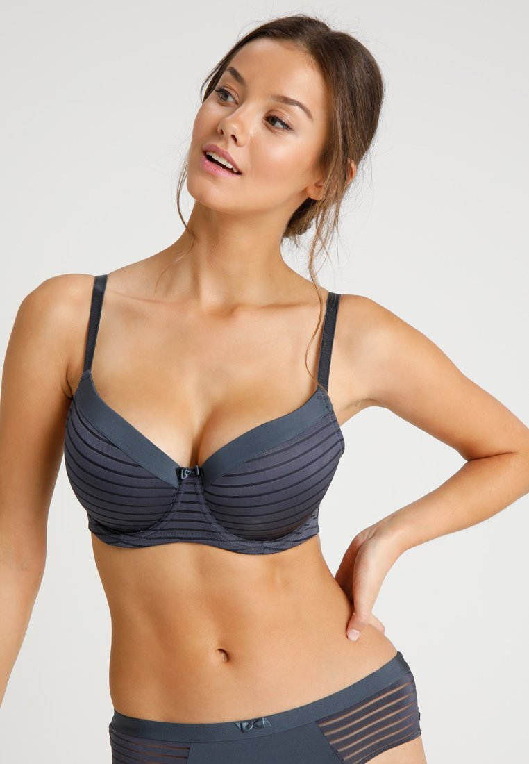 DORINA CURVES - CARMEN BRA  - Underwired bra - blue charcoal