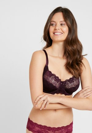PHILIPPA UNDERWIRE - Sujetador con aros - dark red
