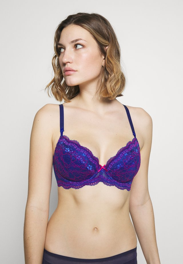 HAZEPLUNGE BRA - Underwired bra - blue