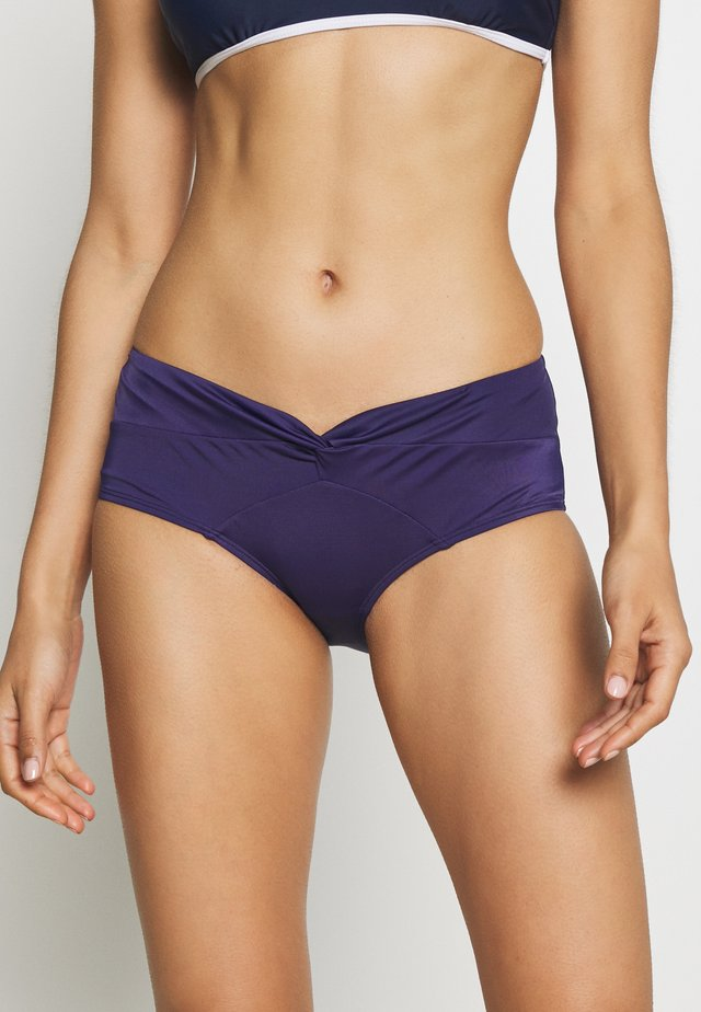 FILAO HIGH WAIST MIDI - Bikini bottoms - ink