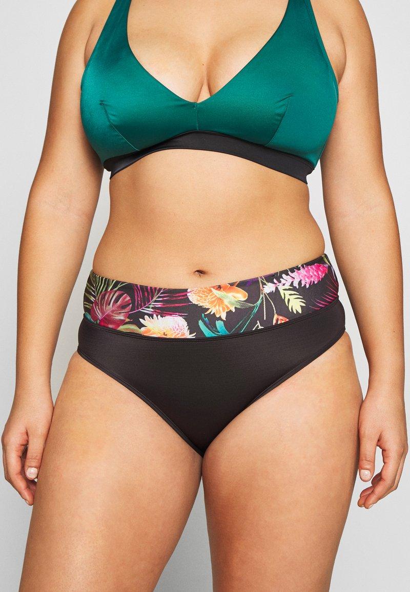 DORINA CURVES - EL NIDO HIPSTER - Bikiniunderdel - black