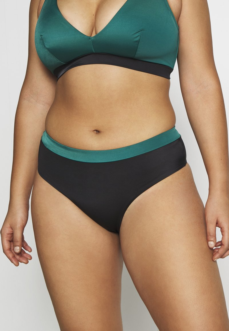 DORINA CURVES - ATTICA HIGH WAIST BRIEF - Bikinibroekje - green