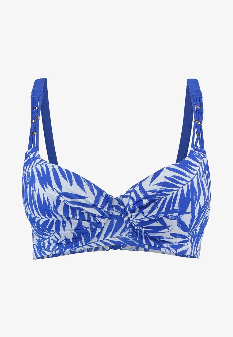 DORINA - JIMBARAN PADDED - Bikinitopp - blue