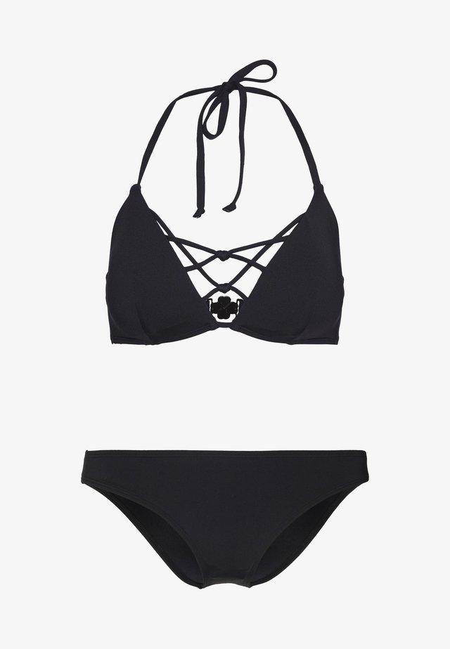 BARTS SET - Bikinier - black