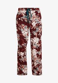 DORINA CURVES - MURIELPYJAMA PANTS - Pyjama bottoms - red - 3