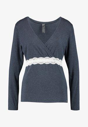 HENRIETTALONGSLEEVE - Pyžamový top - grey melange