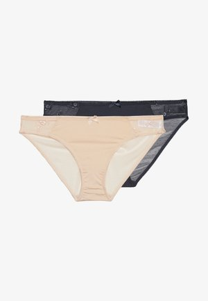 ZARA BRIEF 2 PACK - Slip - grey/pink