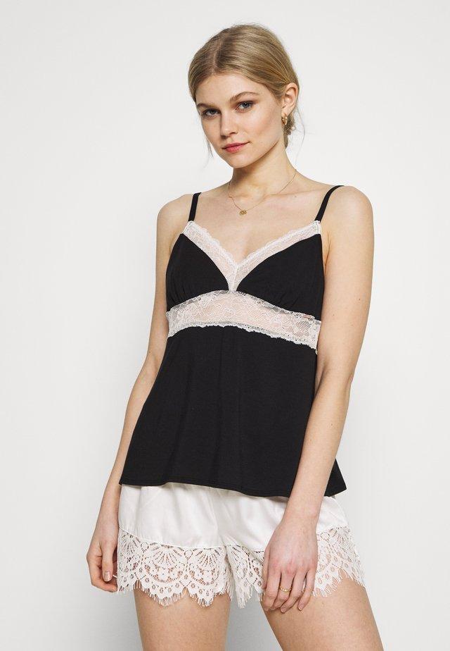 ENORA - Pyjamasöverdel - black