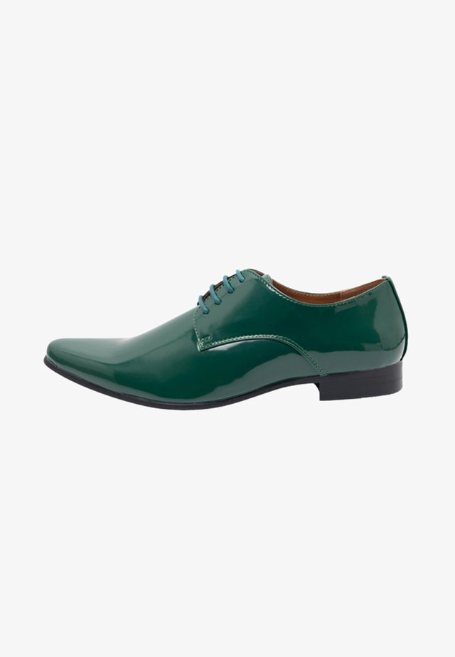 Lace-ups - racing green