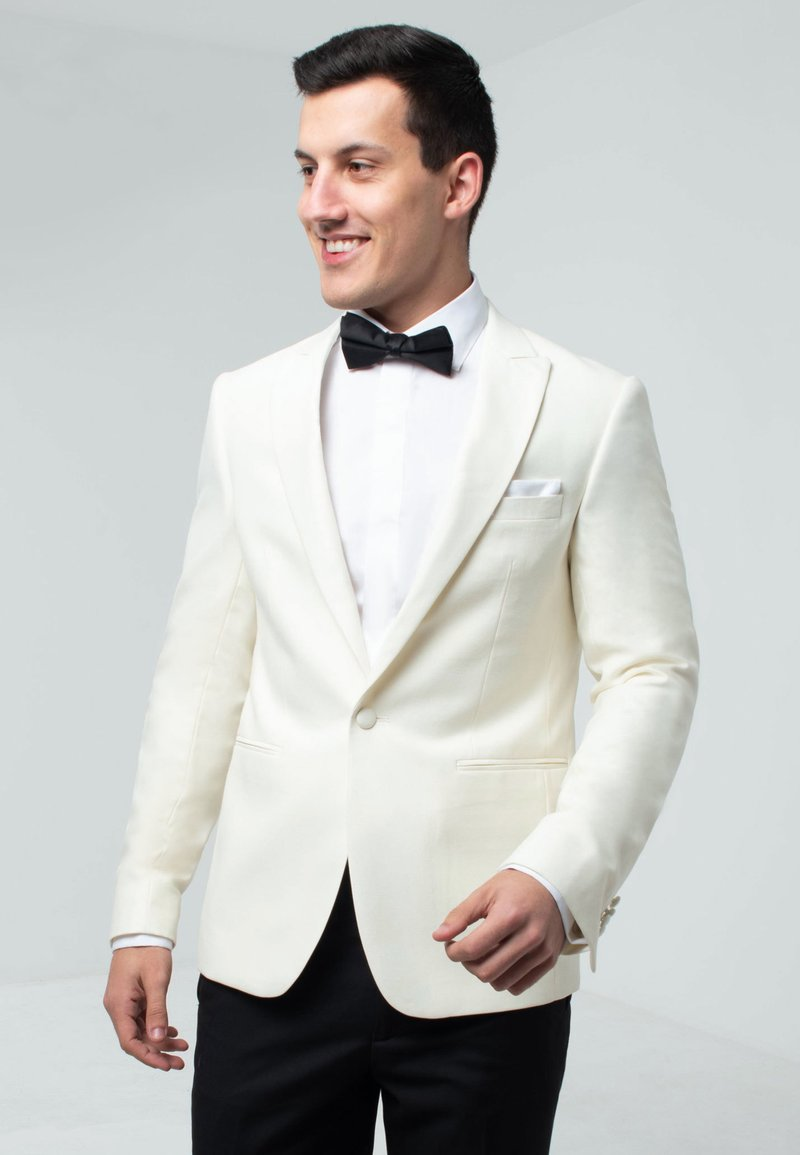 dobell - TUXEDO - Suit jacket - cream