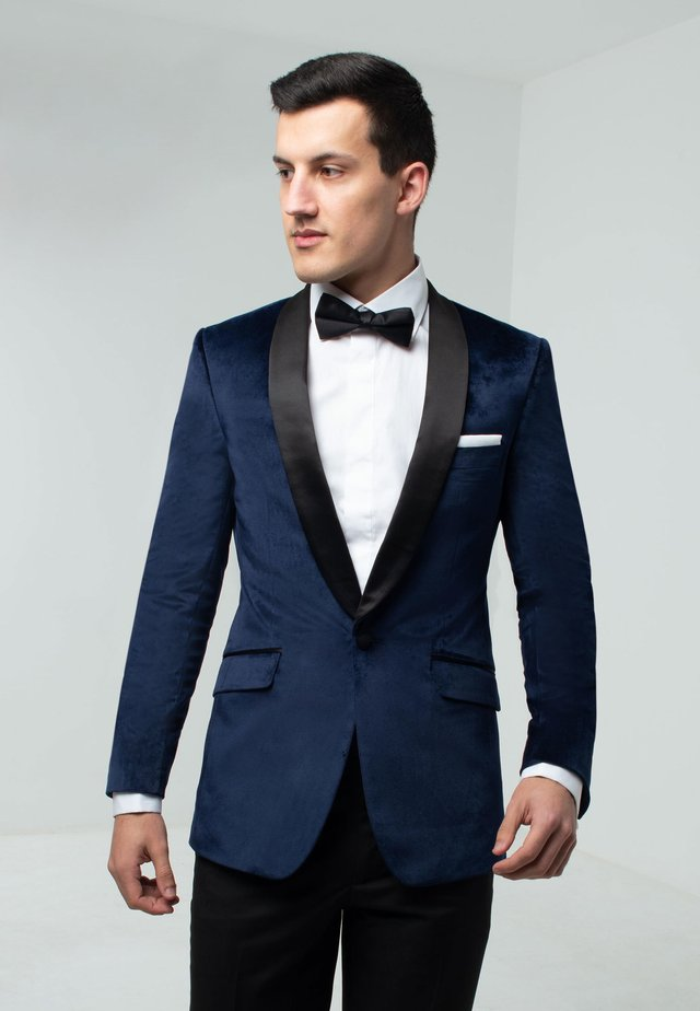 SLIM FIT - Suit jacket - navy blue