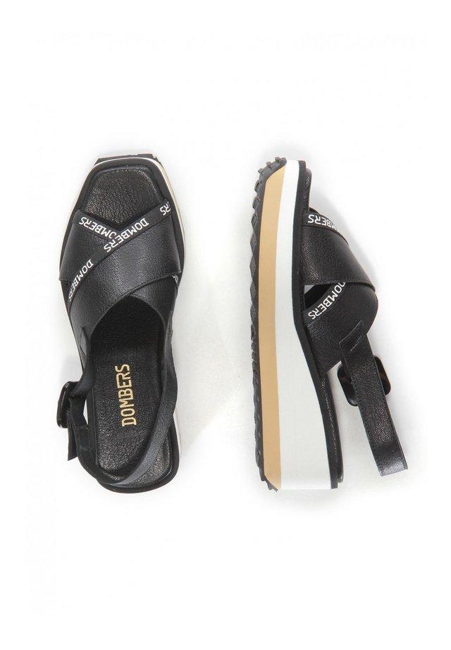 PEARL HEBILLA - Platform sandals - black