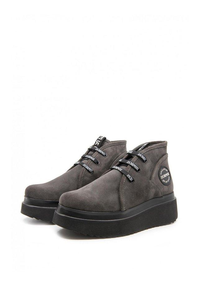 FUTURA - Platform ankle boots - gris