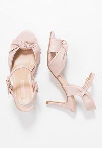 Dorothy Perkins - BREEZE - Sandaler med høye hæler - blush - 3