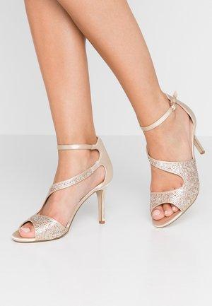 SUNNY - High heeled sandals - champagne