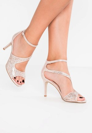 SUNNY - High heeled sandals - blush
