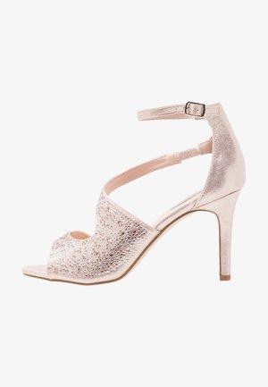 SUNNY - Korolliset sandaalit - blush