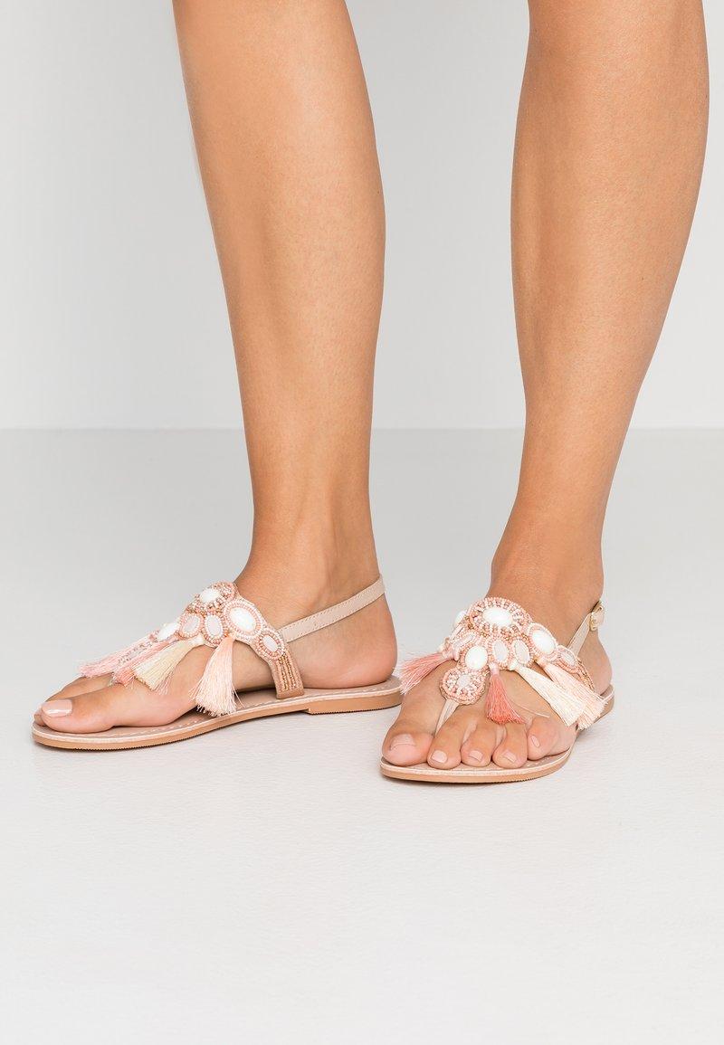 Dorothy Perkins - SANTORINI - Flip Flops - nude
