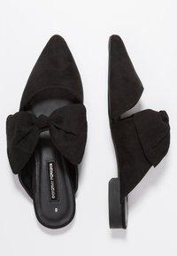 Dorothy Perkins - PHEONIX - Pantolette flach - black - 1