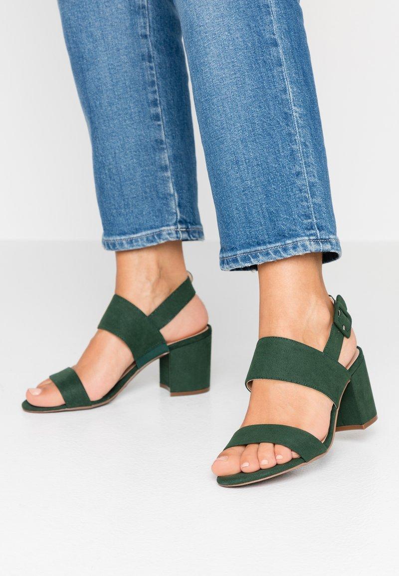 Dorothy Perkins - SADIE - Sandals - forest green