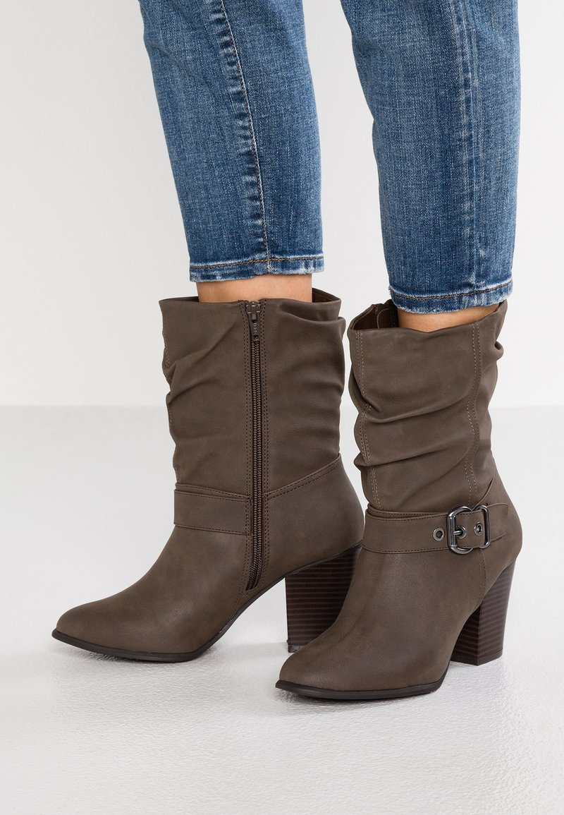 Dorothy Perkins - KLARISSA - Classic ankle boots - taupe