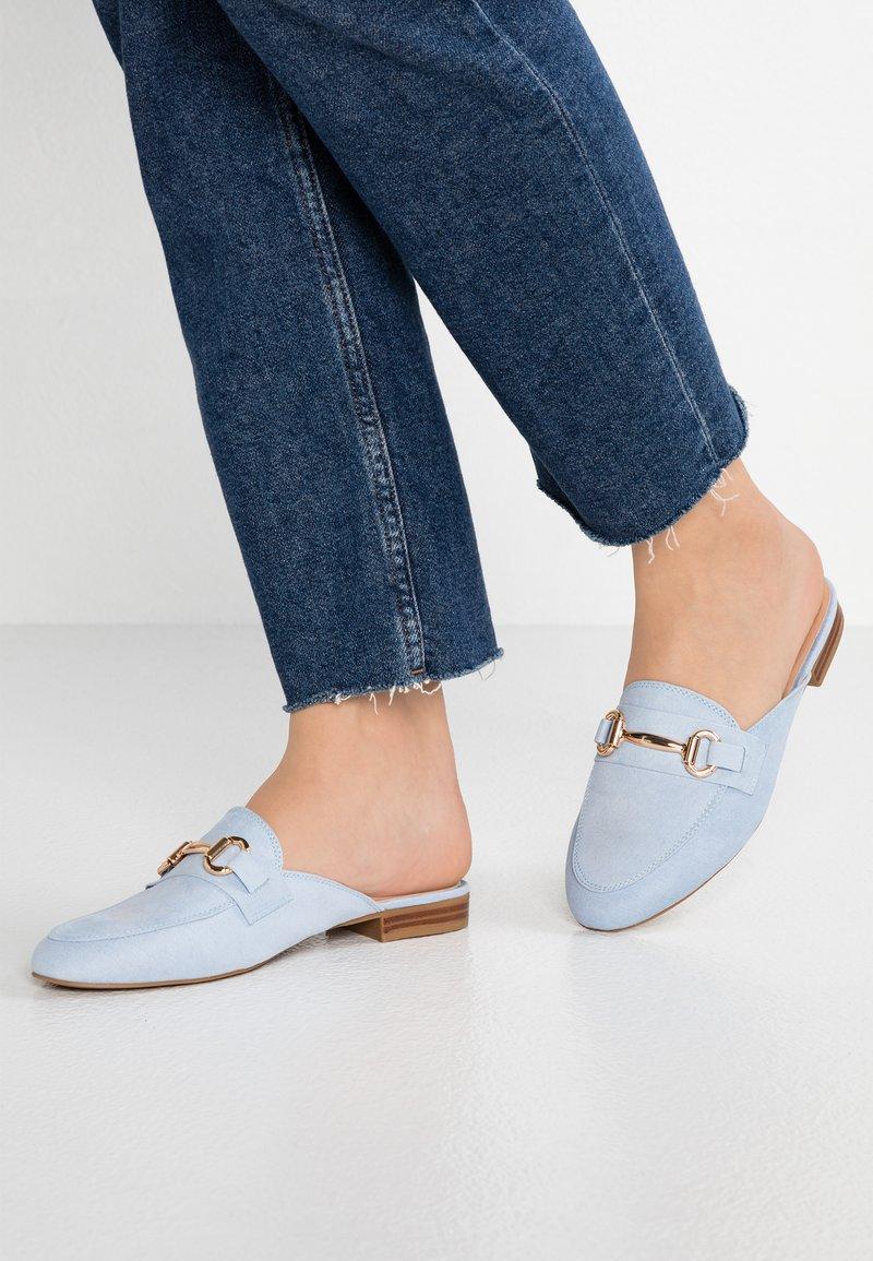 Dorothy Perkins - LUCINDA - Pantolette flach - blue