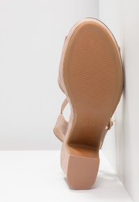 Dorothy Perkins - RHONDA WEDGE - High heeled sandals - nude - 6