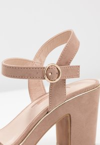 Dorothy Perkins - RHONDA WEDGE - High heeled sandals - nude - 2