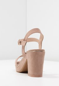 Dorothy Perkins - RHONDA WEDGE - High heeled sandals - nude - 5