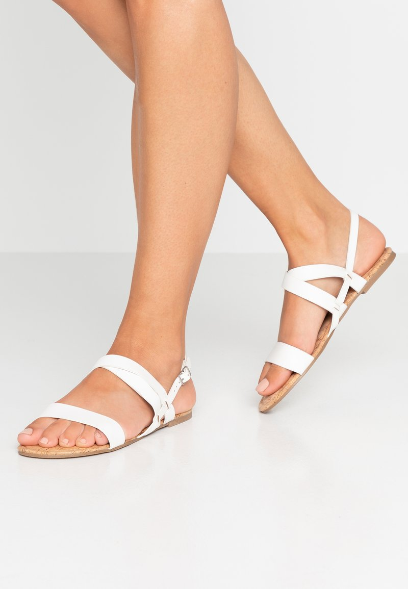 Dorothy Perkins - FABIA - Sandals - white