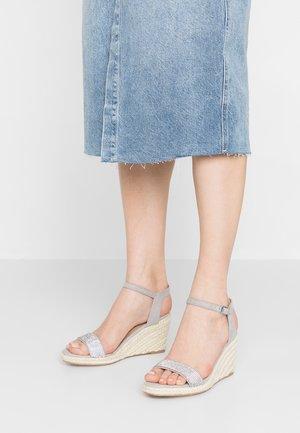 RHIA STRAP - High heeled sandals - grey