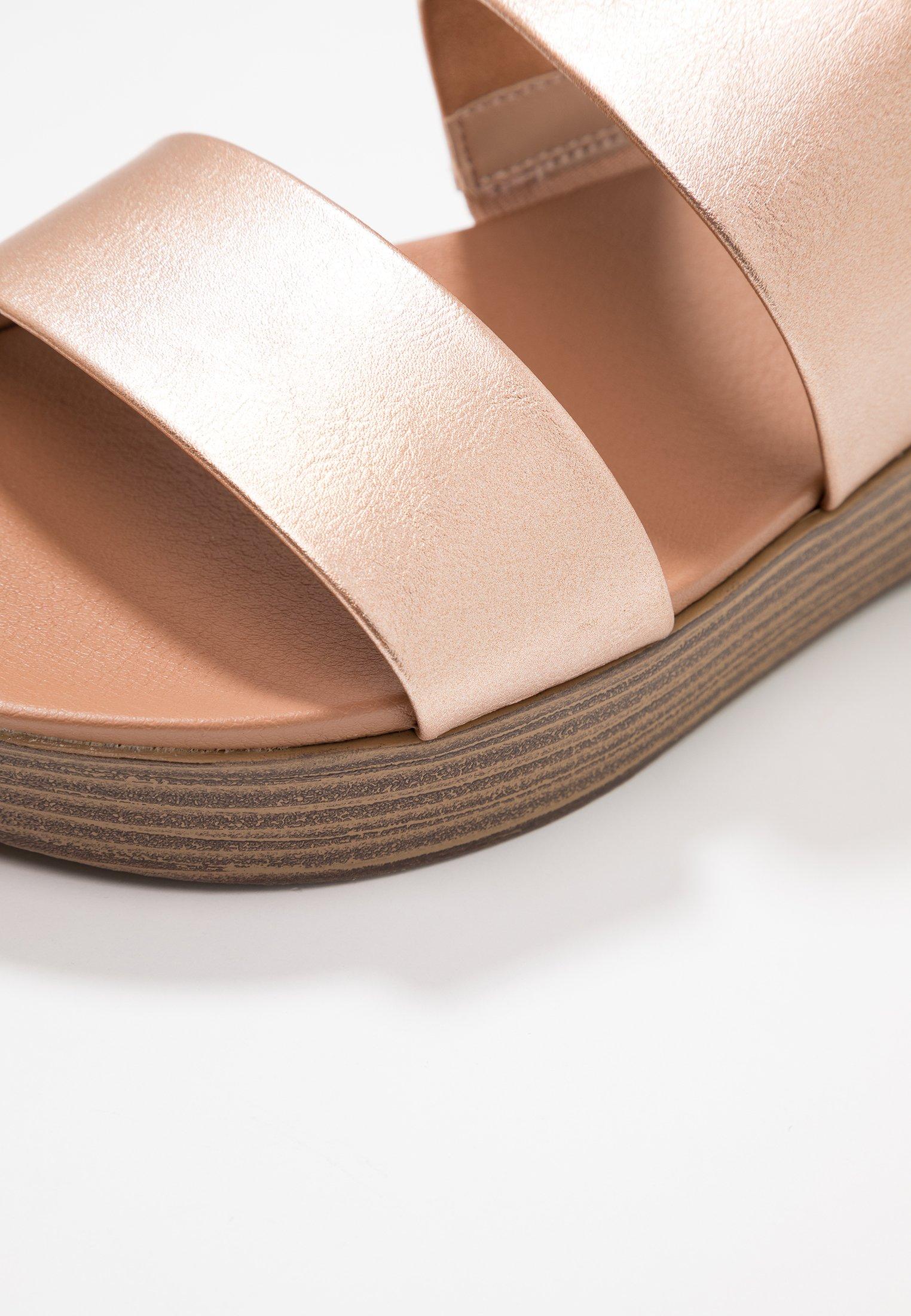 Rose Rosalie MuleMules Perkins Gold Flatform Dorothy QxtCshdr