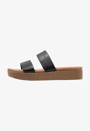 ROSALIE FLATFORM MULE - Pantofle - black