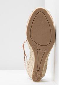 Dorothy Perkins - RAYA WEDGE - Sandály na platformě - nude - 6