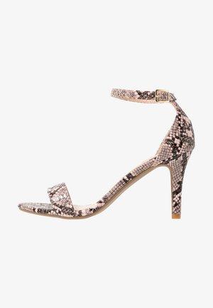 SIZZLE SKINNY DRESSY - Sandály na vysokém podpatku - multicolor