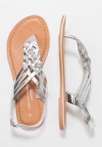 Dorothy Perkins - JEMMA - T-bar sandals - silver - 3