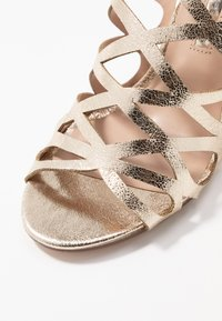 Dorothy Perkins - SPIKE CAGE - High heeled sandals - champagne - 2